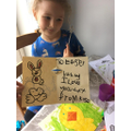 Making Easter cards