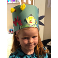 An Easter crown