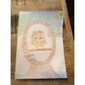Olivia's beautiful illuminated letter