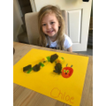A beautiful hungry caterpillar picture