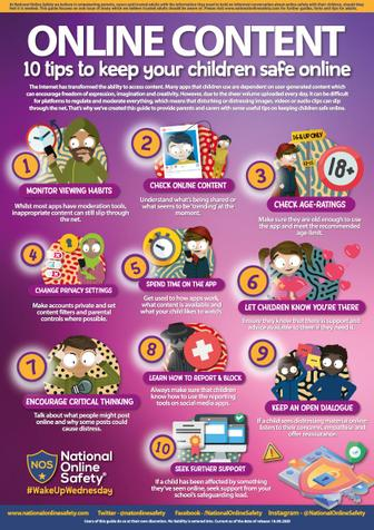 10 Tips to Keep your Child Safe Online