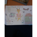 Creative homework project in Y4