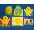 Easter cards in Nursery