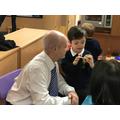 Family learning meet the teacher