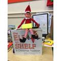 Elf on the Shelf has arrived in Oak Class