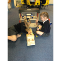 New fire engine in EYFS