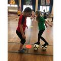 Football skills in Y3