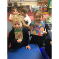 Show and tell in YR - We are reading