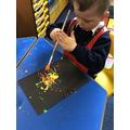 Art & Design in EYFS inspired by fireworks