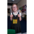 Sewing in craft club Y2
