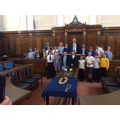 PUPIL PARLIAMENT VISIT COUNTY HALL