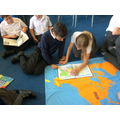 Y6 Exploring the World Map