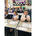 Having fun at our new recorder club