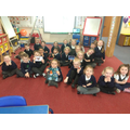 Reception have received their special book