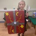 A Viking shield created in lockdown