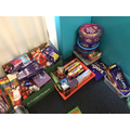Thank you for chocolate donations