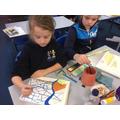 art in the style of David Hockney Y5