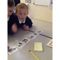 Ordering pictures and retelling the story
