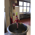 Elf went missing this morning