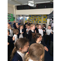 Y2 being supermovers learning their times tables