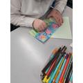 Y5 pop art Easter cards