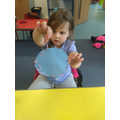 Sewing in EYFS bubble