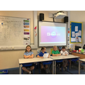 Newsround presenting about Skara Brae in Y3