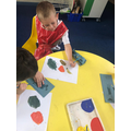 Colour mixing in Y1