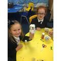 Making snowmen in Y1