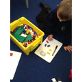 Using lego to count in 2's