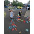 Fun learning outside in EYFS