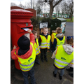 Posting letters to Father Christmas