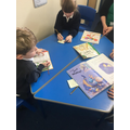using books to look at different settings