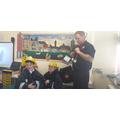 Fire safety talk in Y2