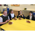 Spag Y6 Boosters with Pizza