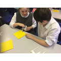 Y6 being creative at Christmas