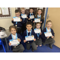 Y2 winners of SHARES virtual multi skills competition