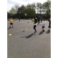 Rugby in Years 3 and 4 with Leigh Community Rugby Coaches