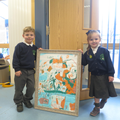 Talented artists in EYFS
