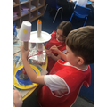Finishing touches to lighthouses in Y1