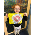 Tie and dye in Y1