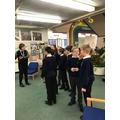 Y6 visit Skelmersdale Library