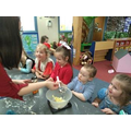 Cooking and nutrition in EYFS