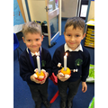 Making christingles in Y1