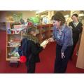 Library visit Y5