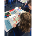 Art inspired by poppies in Y3