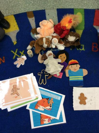 We had a story. Can you recognise the characters?