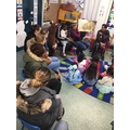 We shared a story with our parents