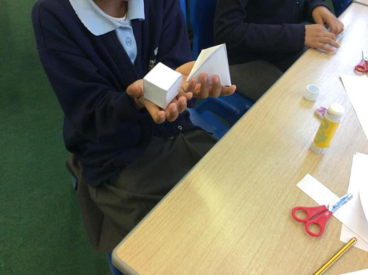 Making 3D shapes using NETS