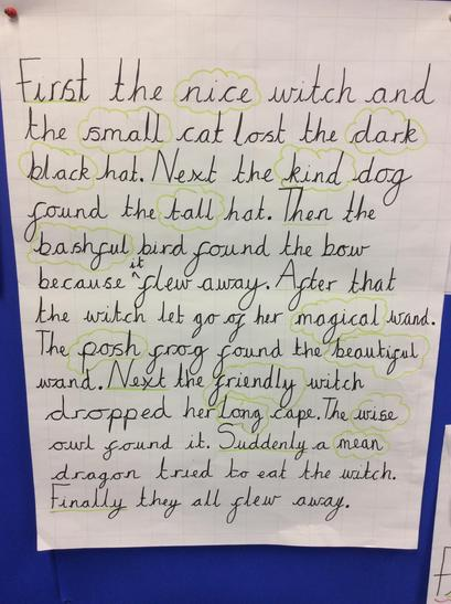Our shared write - recounting the story